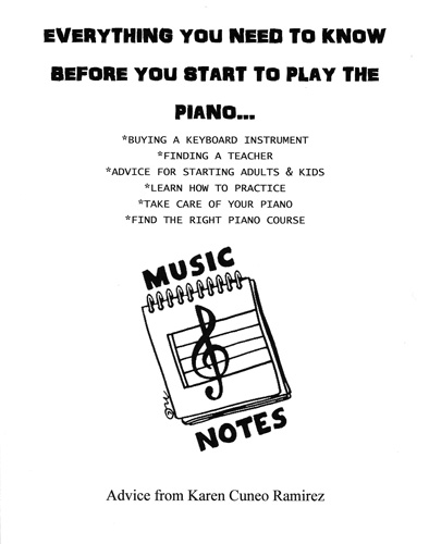Karen's Lesson Books - Sacramento Music Group